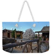 Old Trail Town -  Wyoming Weekender Tote Bag
