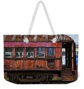 Old Train Car Weekender Tote Bag