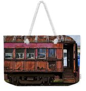 Old Train Car Weekender Tote Bag