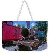 Old Train Engine Weekender Tote Bag