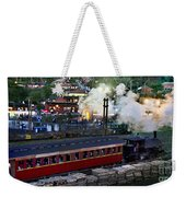 Old Train In The Village - Paranapiacaba Weekender Tote Bag