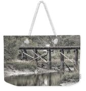 Old Train Trestle Weekender Tote Bag