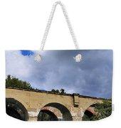 Old Train Viaduct In Poland Weekender Tote Bag