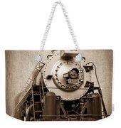 Old Trains Weekender Tote Bag