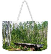 Old Tramway In Canyon City  Miles Canyon Trail Near Whitehorse-yk Weekender Tote Bag