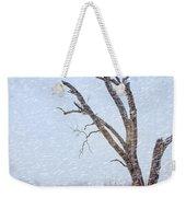 Old Tree In Winter Weekender Tote Bag