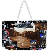 Old Tucson Arizona Composite Of Artists Performing There 1967-2012 Weekender Tote Bag