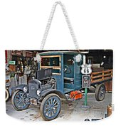 Old Tyme Auto Shop Weekender Tote Bag