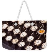 Old Typewriter Keys Weekender Tote Bag
