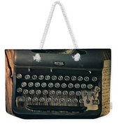 Old Typewriter With Letter Weekender Tote Bag