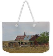 Old Vacant Country Property Weekender Tote Bag