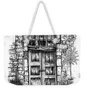 Old Venetian Door In Rethymno Weekender Tote Bag
