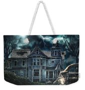 Old Victorian House Weekender Tote Bag by Mo T
