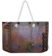 Old Vintage Door With Chain  Weekender Tote Bag