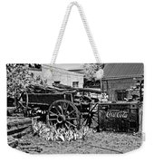 Old Wagon And Cooler Weekender Tote Bag