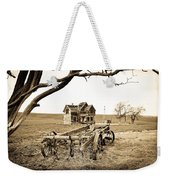 Old Wagon And Homestead Weekender Tote Bag