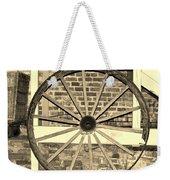 Old Wagon Wheel 1 Weekender Tote Bag
