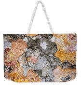 Old Wall Abstract Weekender Tote Bag