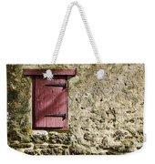 Old Wall And Door Weekender Tote Bag