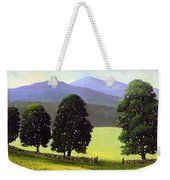 Old Wall Old Maples Weekender Tote Bag