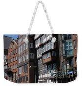 Old Warehouses Port Of Hamburg  Weekender Tote Bag