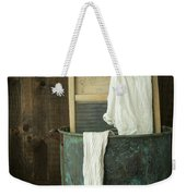 Old Washboard Laundry Days Weekender Tote Bag by Edward Fielding