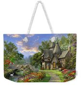 Old Waterway Cottage Weekender Tote Bag