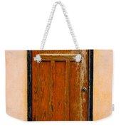 Old Weathered Door Weekender Tote Bag