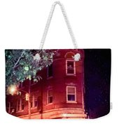 Old Wedge Bank  Building  Haunted Alton Ill Weekender Tote Bag
