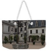 Old Well And Courtyard Chateau Chaumont Weekender Tote Bag