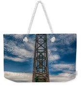 Old Welland Lift Bridge 3d07057hp Weekender Tote Bag