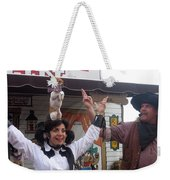 Old West Canine Show Patriotic Dog Pinal County Fair Eleven Mile Corner Arizona 2005 Weekender Tote Bag
