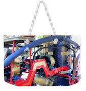 Old West Fire Wagon Weekender Tote Bag