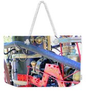 Old West Fire Wagon V2 Weekender Tote Bag