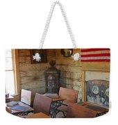 Old West School House Weekender Tote Bag