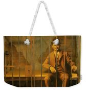 Old Western Jail Weekender Tote Bag