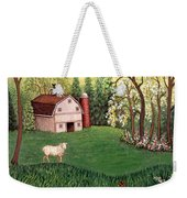 Old White Barn Weekender Tote Bag