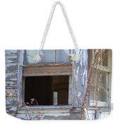 Old Windows Overlooking New World Weekender Tote Bag