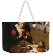 Old Woman At Prayer Weekender Tote Bag