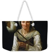 Old Woman Spinning, 1646-48 Weekender Tote Bag