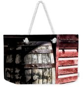 Old Wooden Barrel Weekender Tote Bag