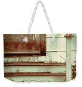 Old Wooden Porch Weekender Tote Bag