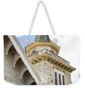 Old Wooden Victorian Chapel Church Steeple Fine Art Landscape Photography Print Weekender Tote Bag