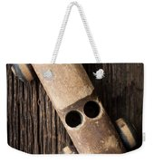 Old Wooden Vintage Toy Car Weekender Tote Bag