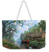 Old Woodland Cottage Weekender Tote Bag