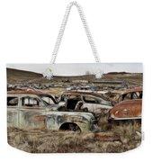 Old Wrecks Weekender Tote Bag