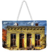 Old Yellow House In Buena Vista Weekender Tote Bag