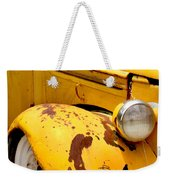 Old Yellow Truck Weekender Tote Bag