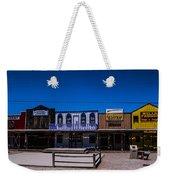 Olde Strip Mall Weekender Tote Bag