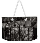 Olde Victorian Gate Leading To A Secret Garden - Peak District - England Weekender Tote Bag